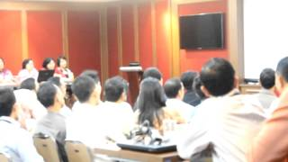 TALKINC IN HOUSE TRAINING  FOR IDSMED ERWIN PARENGKUAN