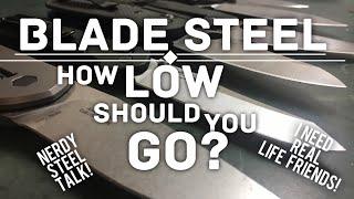 My rope cutting results: Steel / Cuts made / Knife Model Maxamet 563 - Spyderco Manix 2 CPM 10V 389 - Spyderco K2 CPM...