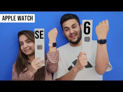 New Apple Watch Unboxing | Series 6 & Apple Watch SE