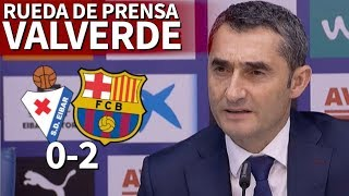 Video Eibar 0-2 Barcelona | Rueda de prensa de Valverde | Diario AS MP3, 3GP, MP4, WEBM, AVI, FLV Februari 2018