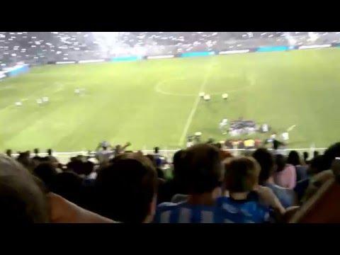 Así recibio la hinchada al Decano - La Inimitable - Atlético Tucumán
