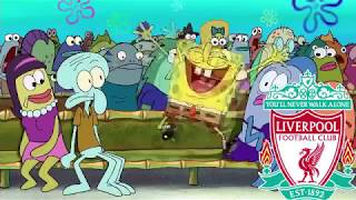 Champions league rd of 16 portrayed by spongebob