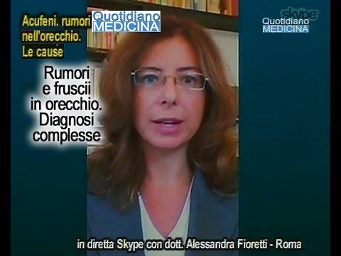 Quotidiano Medicina 19/10/15. Acufene, fruscii in orecchio, disturbo complesso