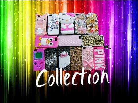 collection - Follow Me On Instagram! @RealPiinksparkles ♥ Cases Mentioned ♥ Candy/Sweets Case: http://www.luxaddiction.com Hello Kitty Bling Case: https://blingshield.co...