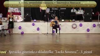 """Video Speváčka, gitaristka a skladateľka: """"Lucka Šútorová"""" - 3. pieseň"""
