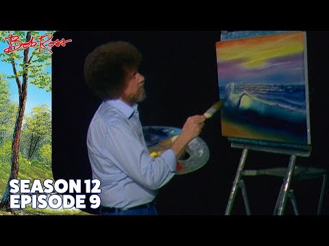 Bob Ross - Tropical Seascape (Season 12 Episode 9)