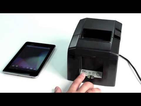 Video of Star Micronics Printer Demo