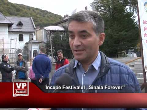 "Începe Festivalul ""Sinaia Forever"""