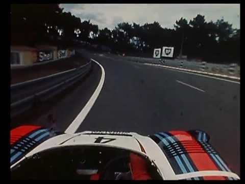 giro nella pista di le mans 1977 su porsche 936