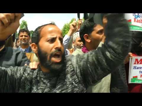 Legislator Rasheed detained during anti-Modi march in Srinagar