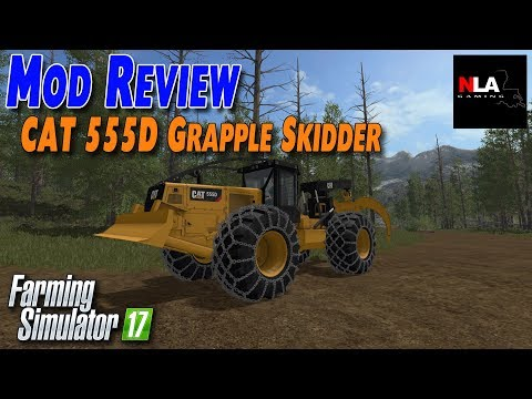 Cat 555D Skidder Release v2.0