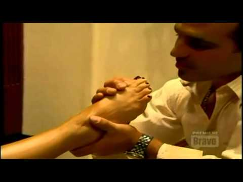Melissa Gorga Foot Worship in The Real Housewives of New Jersey
