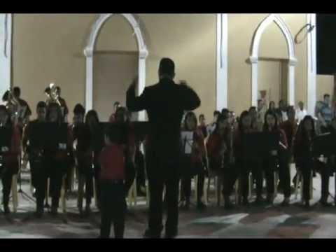 Apresentação da Filarmônica José Praxedes Fernandes em Itaú 09-09-2012