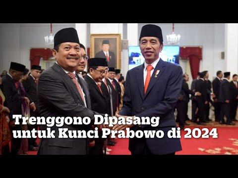 Trenggono Dipasang untuk Kunci Prabowo di 2024