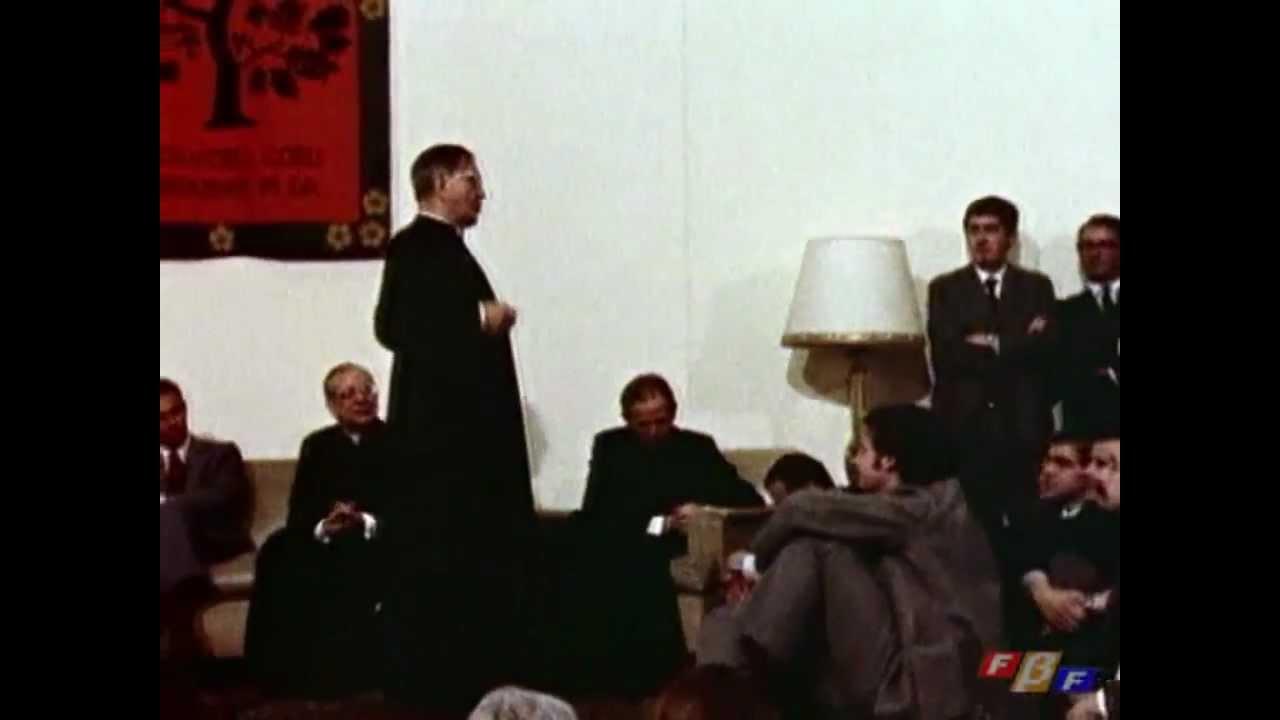 """Vídeo de San Josemaría: """"Los cooperadores del Opus Dei"""""""