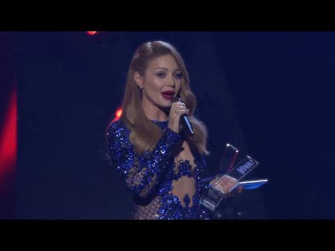 Речь Тины Кароль после победы в номинации \