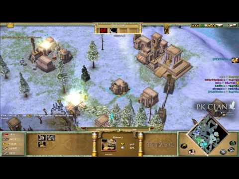 Age Of Mythology: The Isis Strategy | No Military Units = Win!