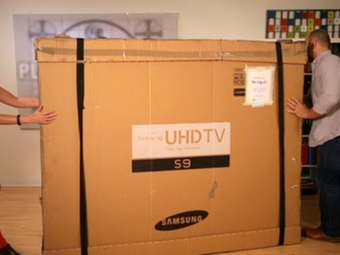 Always On - Unboxing the Samsung 85-inch 4K TV