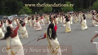 Onam Dance Thiruvathira and Mavelli Procession in Boston