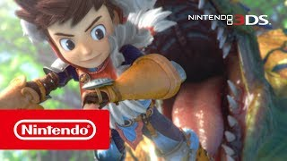 Monster Hunter Stories - Overview Trailer (Nintendo 3DS)