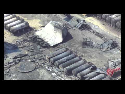 До и после пожара на нефтебазе под Киевом