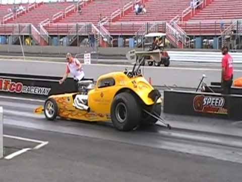 Joe Morrison in the Drive4COPD 48 Fiat at Atco 6-17-12