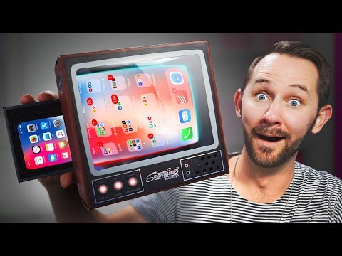 Turn Your Smartphone Into A TV! | 10 Ridiculous Tech Gadgets (видео)