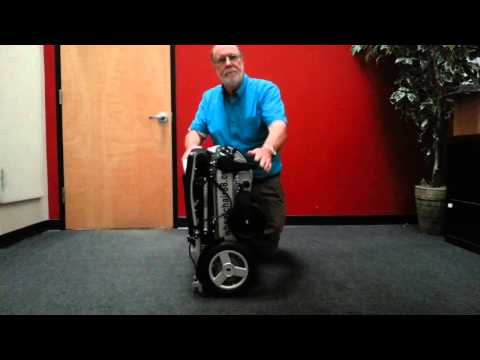 Wheelchair88 . PW-1000XL Power Chair - 25Kg only, heavy duty. Foldable in just 2 seconds. Comes with a thick & tuff travel bag. Electric power motorized wheelchair.