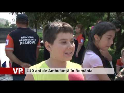 110 ani de Ambulanță în România