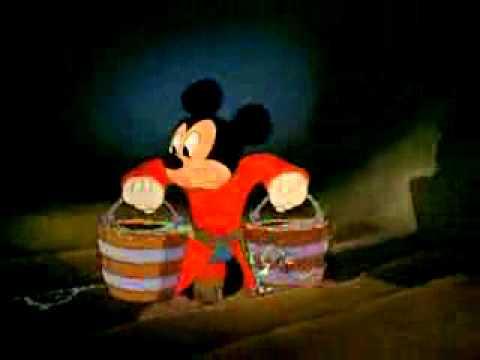 Video Fantasia 1940   The Sorcerer's Apprentice   Walt Disney Cartoon Movie download in MP3, 3GP, MP4, WEBM, AVI, FLV January 2017