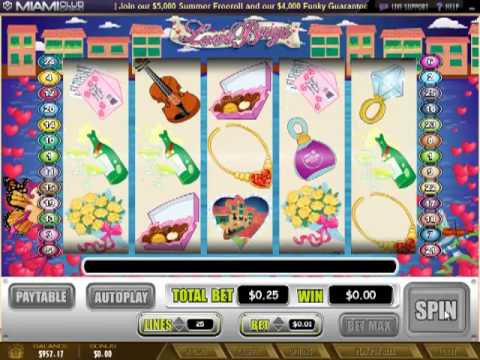 Miamiclubcasino.im - Love Bugs (5 Reel Slot BONUS Review)