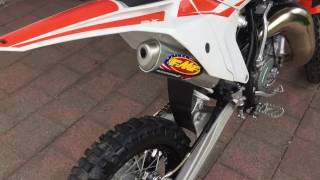 7. FMF exhaust pipe for the KTM 65 sx 2017/2016