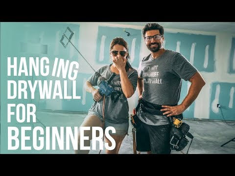 How To Hang Drywall for Beginners  | Nestrs