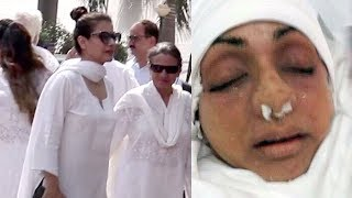 Video EMOTIONAL Kajol Breaks Down Seeing Sridevi's Condition After PASSING AWAY MP3, 3GP, MP4, WEBM, AVI, FLV Agustus 2018