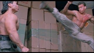 Double Impact Fight Scene - Van Damme vs. Bolo [HD]