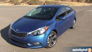 ALL-NEW 2014 Kia Forte EX Sedan Test Drive&Compact Car Video Review