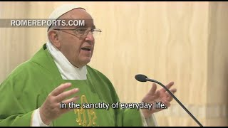 """""""Kingdom of God is hidden in the sanctity of daily life"""""""