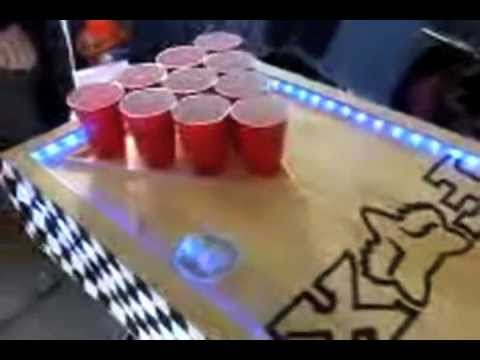 EPIC Beer Pong Table w/ Automatic Ball Washers