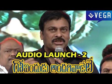 Govindudu Andarivadele Audio Launch - Part 2