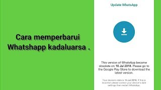 Video Cara memperbarui whatshapp android seperti ios yang kadaluarsa MP3, 3GP, MP4, WEBM, AVI, FLV Mei 2019