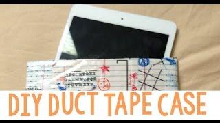 Duct Tape Laptop/iPad Case - YouTube