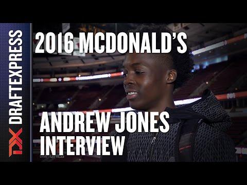 Andrew Jones - 2016 McDonald's All American Interview