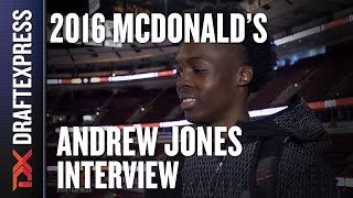 Andrew Jones - 2016 McDonald's All American Interview