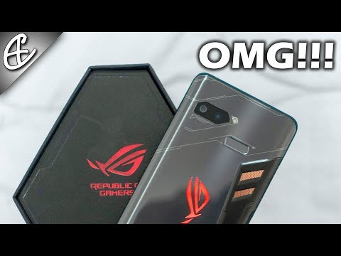 Asus ROG Phone - ULTIMATE Gaming Phone - Unboxing & Hands On Review - India First!