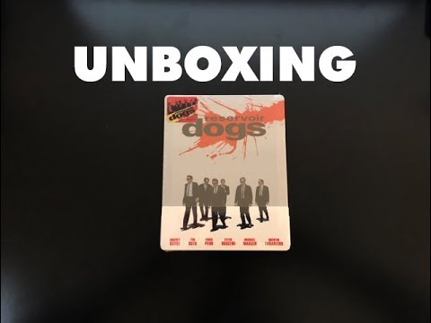 Reservoir Dogs - Blu-Ray Steelbook Unboxing Nova Media