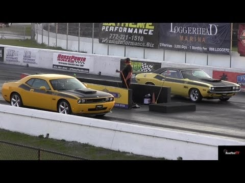 Challenger SRT8 vs. 340 Six Pack Challenger T/A