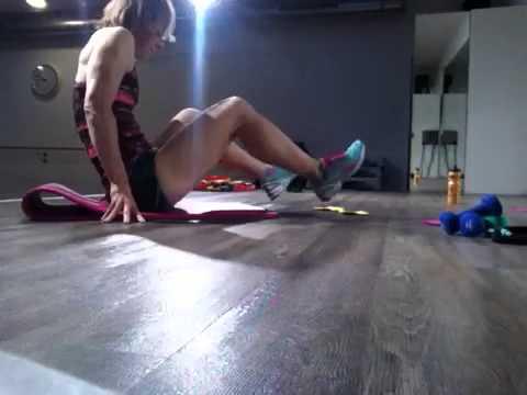 2 Übungen mit je 2 Filzen