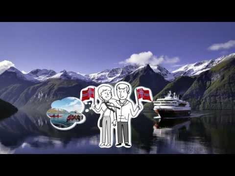 Eine Hurtigruten Postschiffreise