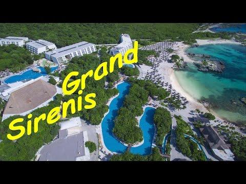 Grand Sirenis Riviera Maya, Resort Map, Mayan Beach resort and spa Resort Tour