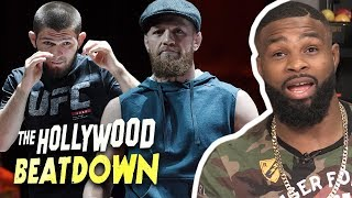 Video Tyron Woodley Reacts to McGregor's $50 Million Paycheck Vs Khabib | The Hollywood Beatdown MP3, 3GP, MP4, WEBM, AVI, FLV Oktober 2018